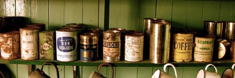 Canned food – an instrument of power