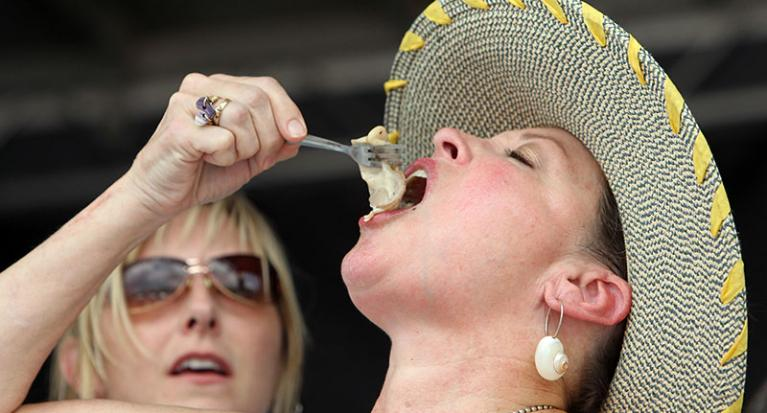 The crazy world of competitive eating